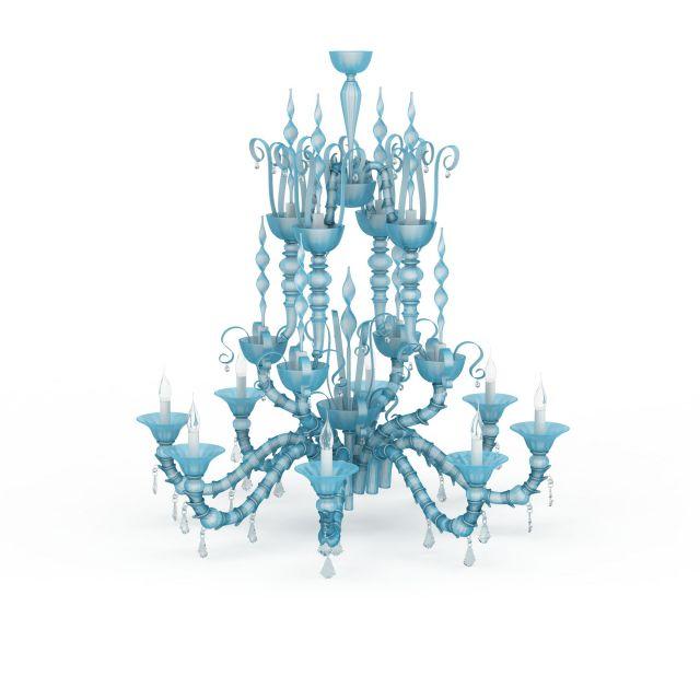 buy chandelier of com luxury aliexpress crystal unique blue