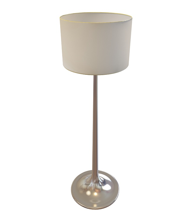 Drum floor lamp 3d model 3ds max files free download for Floor lamp 3ds max free model