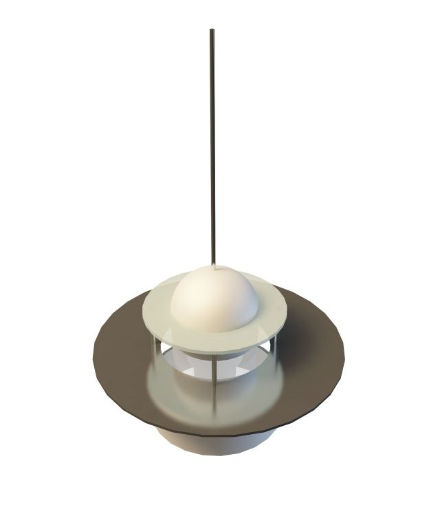 Industrial Ceiling Light 3ds Max: Industrial Pendant Light 3d Model 3ds Max Files Free