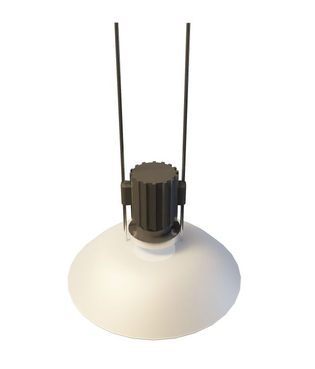 Industrial Ceiling Light 3ds Max: Industrial Pendant Lamp 3d Model 3ds Max Files Free