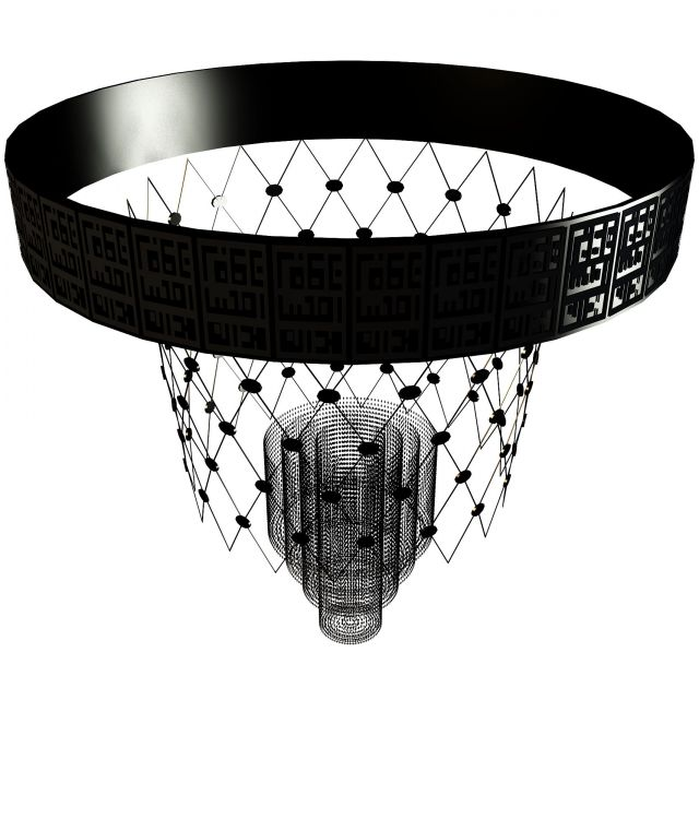 Industrial Ceiling Light 3ds Max: Basketball Net Ceiling Light 3d Model 3ds Max Files Free