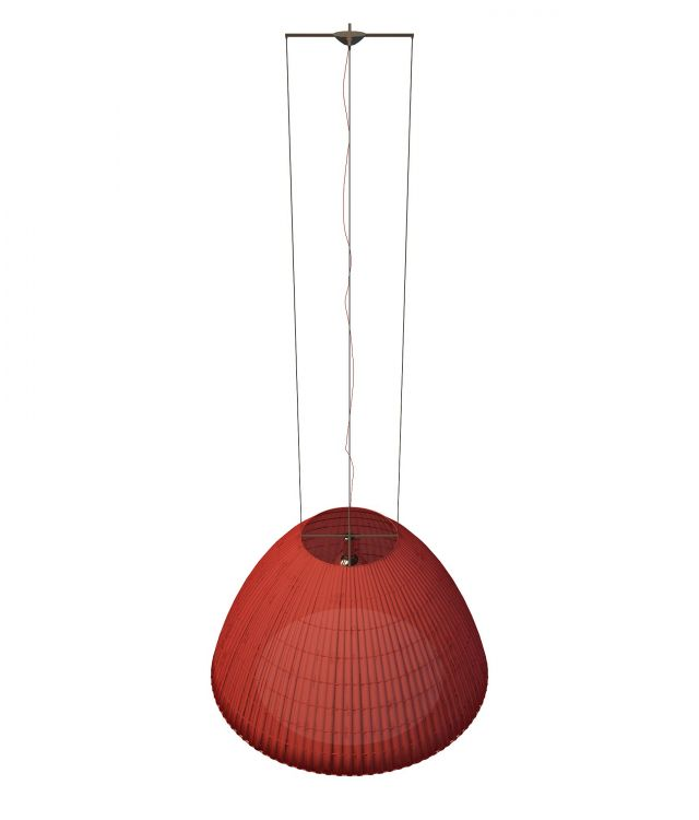 red pendant hanging light 3d model 3ds max files free