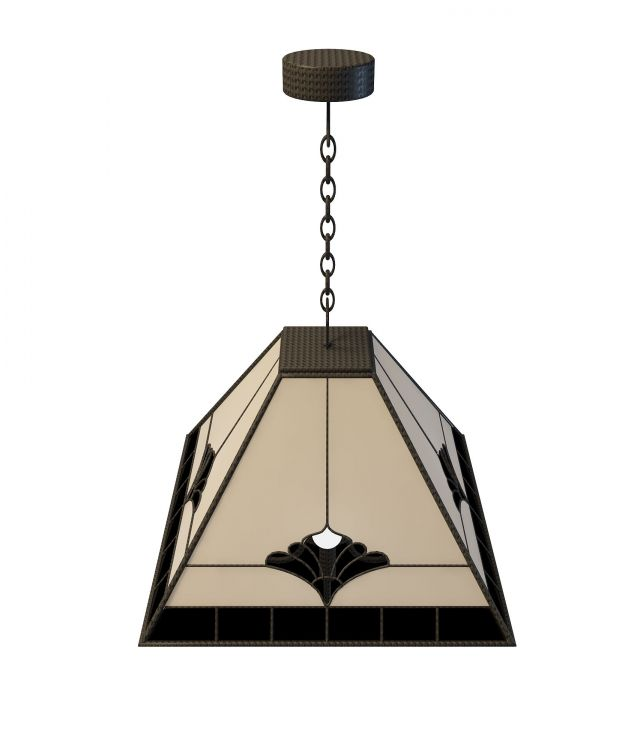Rustic Pendant Lighting For Kitchen 3d Model 3ds Max Files