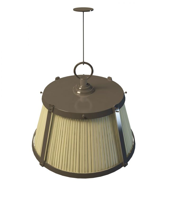 Retro Pendant Lighting 3d Model 3ds Max Files Free