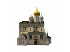 Cathedral of the Archangel 3d model