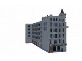 Apartment buildings 3d model