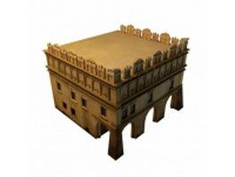 Arabic house 3d model