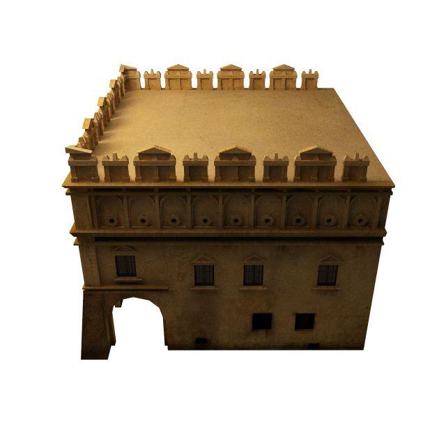 Arabic house 3d model - CadNav