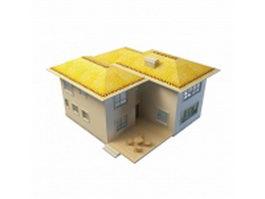 Beautiful dream home 3d model