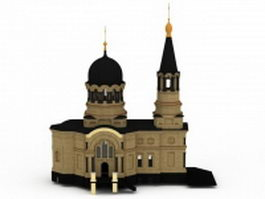 Russian church 3d model