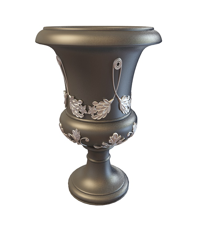 Decorative Urn 3d Model 3ds Max Files Free Download
