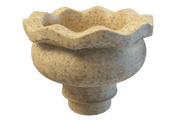 Stone Urn Planter 3d Model 3ds Max Files Free Download