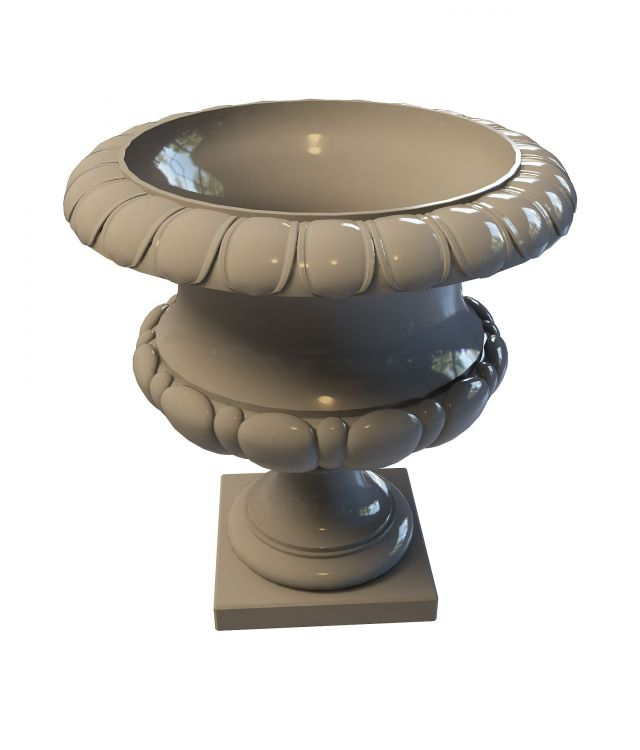 Decorative Garden Urn 3d Model 3ds Max Files Free Download