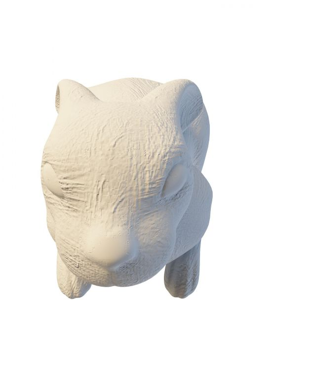 Garden Rabbit Statue 3d Model 3ds Max Files Free Download