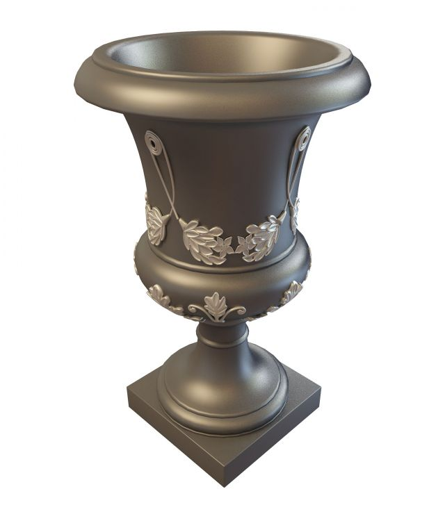 Ornamental Urn 3d Model 3ds Max Files Free Download