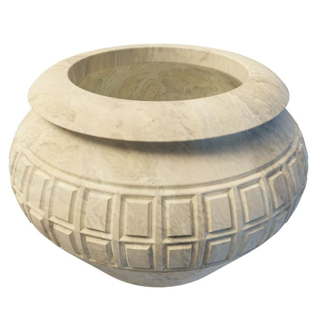Antique Stone Urn 3d Model 3ds Max Files Free Download
