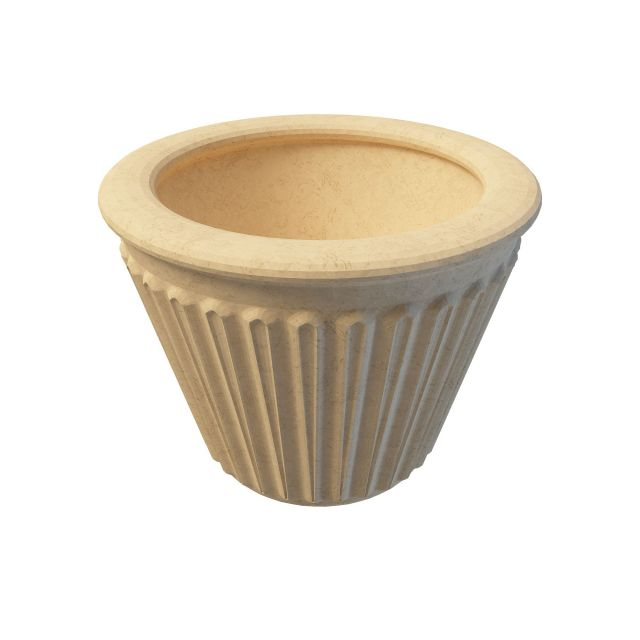 Marble Flower Pot 3d Model 3ds Max Files Free Download