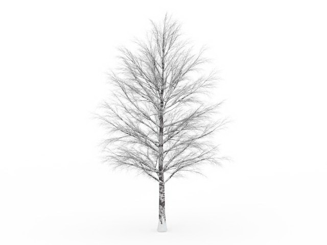 Old Tree In Winter 3d Model 3ds Max Files Free Download – Fondos de