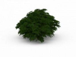 Landscaping bushes shrubs 3d model