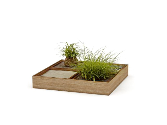 Garden Planter Box 3d Model 3ds Max Files Free Download