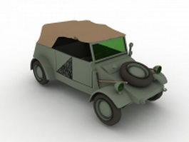 Volkswagen Kubelwagen 3d model