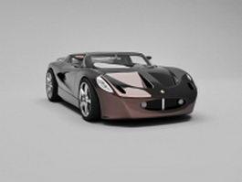 Lotus Evora sports car 3d model