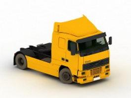 Volvo FH16 heavy truck 3d model