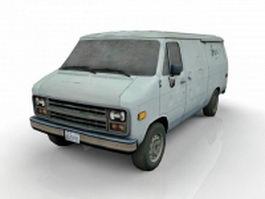 Old Van 3d model