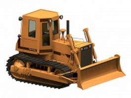 Heavy bulldozer 3d model