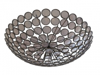 Large bowl ceiling lighting 3d model