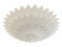 White resin ceiling lighting 3d model