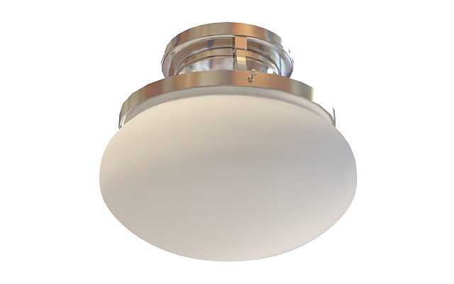 Bathroom Ceiling Lamp 48d Model 48ds Max Files Free Download Interesting Bathroom Lightin Model