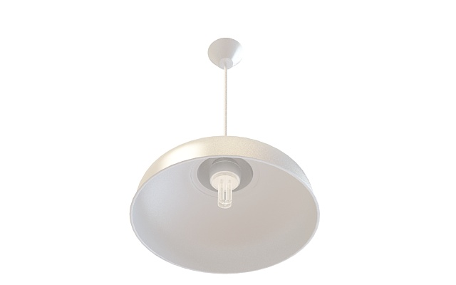 Industrial Pendant Lighting Fixture 3d Model 3ds Max Files