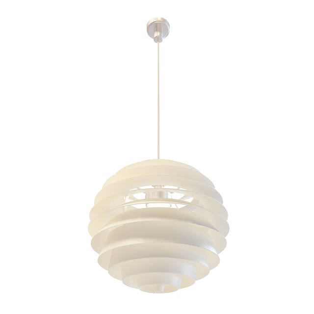 Resin Ball Pendant Lighting 3d Model 3ds Max Files Free