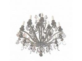Victorian chandelier 3d model