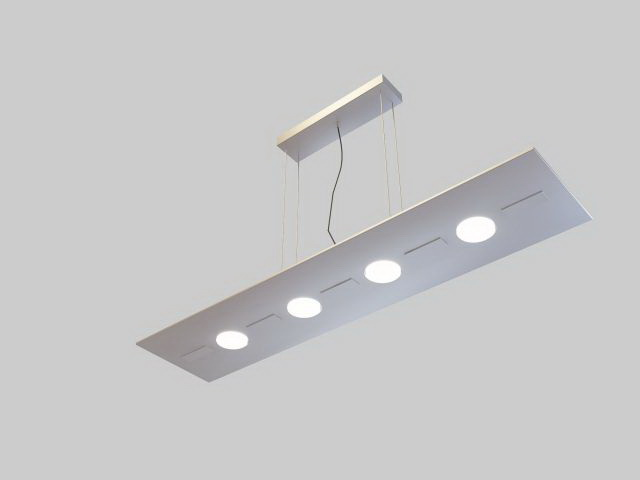 Low Poly 3d Model Of Office Ceiling Light Fixture. Available 3D File  Format: .max (3d Studio Max 2010) V Ray Render. Free Download This 3d Model  And Put It ...