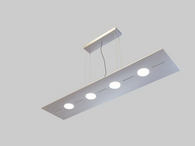 Office Pendant Lighting 3d Model 3ds Max Files Free