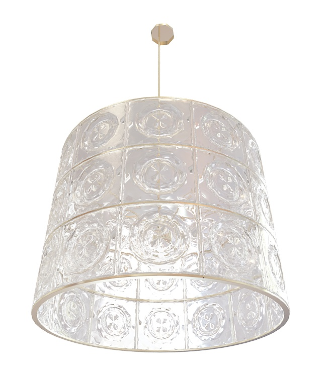 Swarovski Crystal Pendant Lighting 3d Model 3ds Max Files