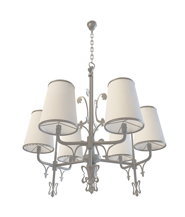 Industrial Ceiling Light 3ds Max: Industrial Chandelier Lighting 3d Model 3ds Max Files Free