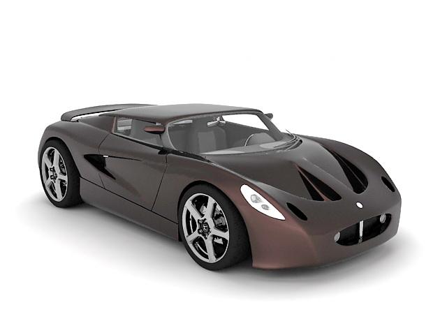 3dSkyHost: Lotus Elise roadster 3D Model
