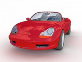 Porsche Boxster roadster 3d preview