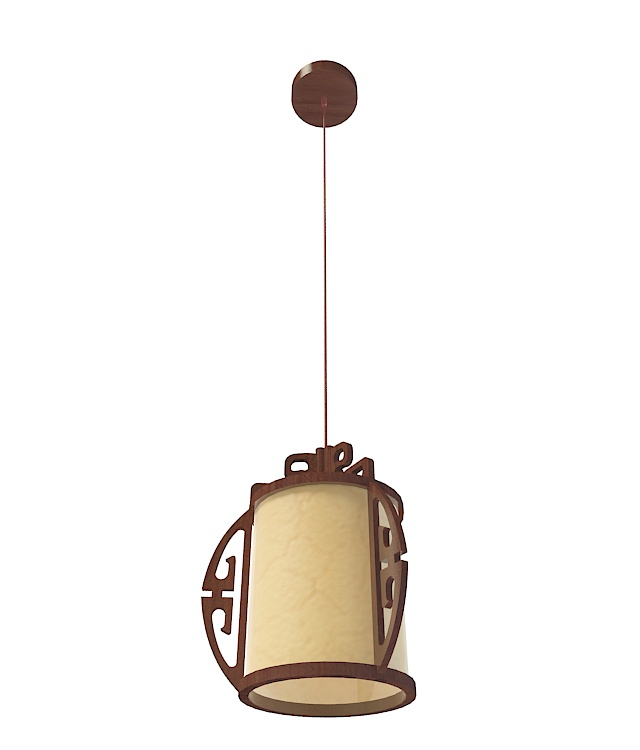 Chinese Pendant Light 3d Model 3ds Max Files Free Download