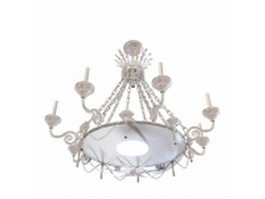 Church chandelier 3d model