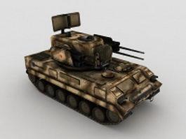 Chinese tank 3d model
