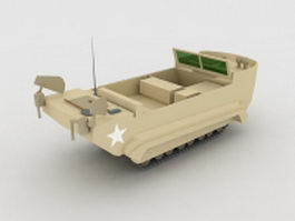 US Army M29 Amphibious Weasel 3d model