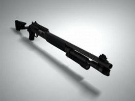 Benelli M4 Super 90 3d model