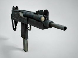 MP-2 Submachine gun 3d model