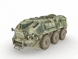 Armoured fighting vehicle 3d model