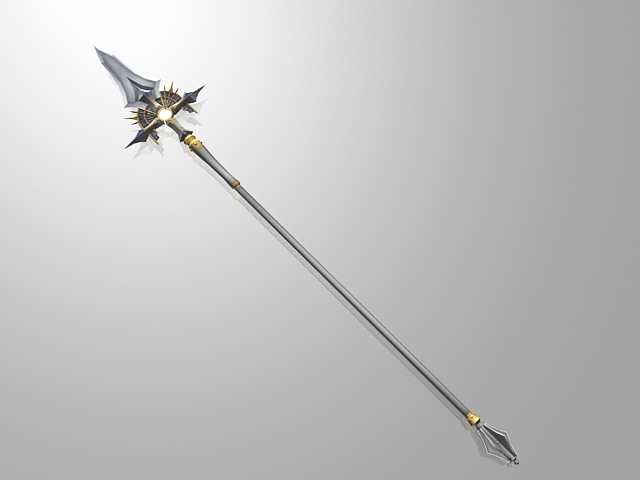 Medieval spear 3d model 3ds max,Collada files free ...