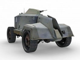 Combine APC concept 3d model